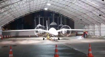 Las pruebas en tierra del tercer prototipo del dron de ataque Bayraktar Akinci han comenzado en Turquía