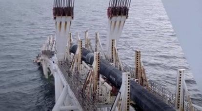 독일, Nord Stream 2 건설이 동결 될 수 있음을 인정