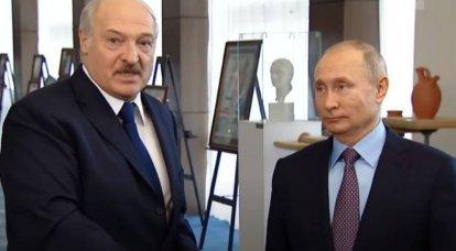 पुतिन ने लुकाशेंको के साथ बेलारूस में रूसियों की नजरबंदी पर चर्चा की