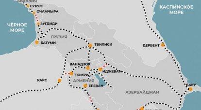 Yerevan bloqueada e ... todas as estradas armênias