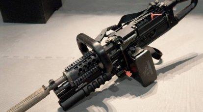 Stoner 63: développement. Scie à chaîne et fusil expéditionnaire RobArm M96