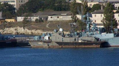 ウクライナの黒海艦隊はゆっくり沈んでいる