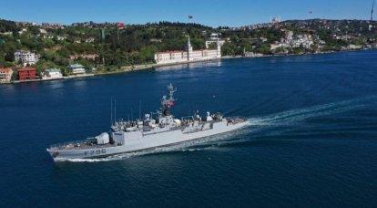 """""""Tres aviones y una corbeta"""": el ejército francés se intensifica en el Mar Negro"""