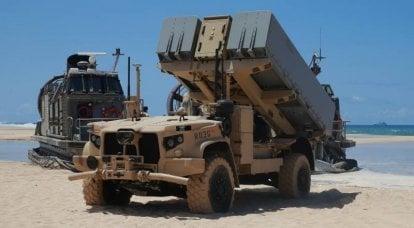Nouveaux tests du système de missile côtier robotisé NMESIS (USA)