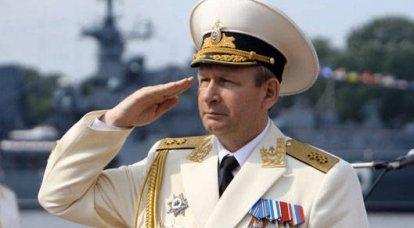 バルト艦隊の司令官は未来について楽観的です