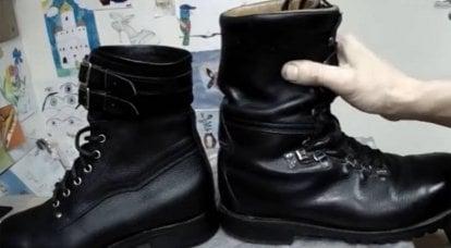 Botines derrotados botas de lona