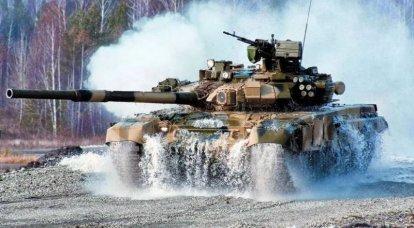 Wie ukrainische und russische Panzer beworben werden