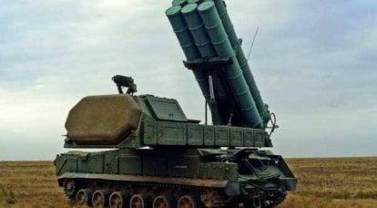 """俄罗斯的防空系统。 SAM""""布克"""""""