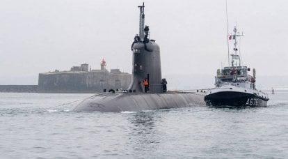 Fransız kurşun nükleer denizaltısı Suffren, bir seyir füzesinin ilk fırlatmasını yaptı