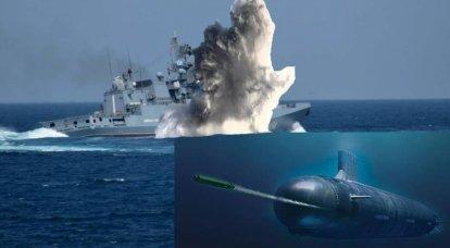 """Catástrofe anti-torpedo"" da frota russa"