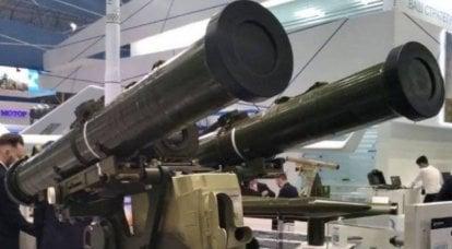 """L'Ukraine a présenté à l'exposition le complexe """"Amulet"""" pour les nouveaux missiles antichars"""