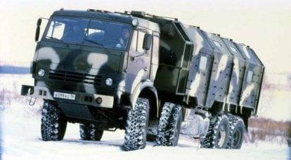 KamAZ卡车为陆军服务
