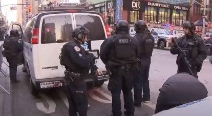 미국 거주자는 미국의 경찰 불법에 대해 이야기합니다