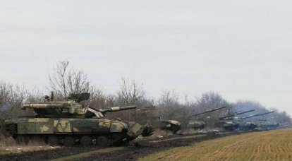 "The Ukrainian Armed Forces conducted exercises to repel the ""aggressor attack"" from the territory of Crimea"