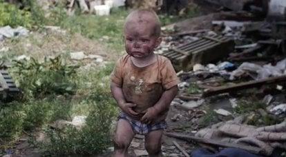 Tragédias de crianças na guerra: Donbass abre novas páginas