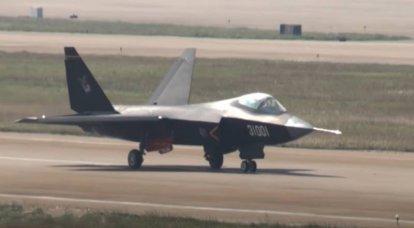 J-31 स्टील्थ फाइटर को वुहान में वाहक-आधारित विमान के लिए जमीनी परीक्षण सुविधा में देखा गया