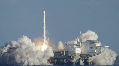 The owner of Sea Launch began development of a rocket with a return stage