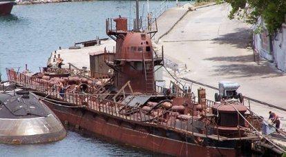L'Ukraine veut envoyer le seul sous-marin à la mer
