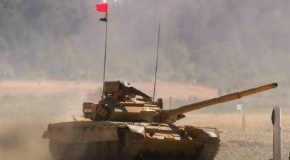 インドの将校は、T-90タンクの「機械的な問題」を、タンクバイアスロンでのインドチームの失敗の理由と呼びました