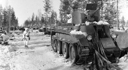 핀란드와의 겨울 전쟁 : 수 오무 살미 전투