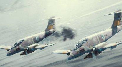 Servicio y uso en combate del avión de ataque turbohélice argentino IA.58A Pucará