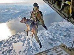 アフガニスタンのイギリス軍は空挺部隊を使用