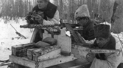 The use of captured German machine guns in the USSR