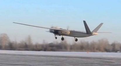 """O drone russo """"Altius"""" será testado com uma gama completa de armas guiadas"""