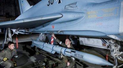Fin des essais du missile air-air Meteor pour les chasseurs Eurofighter en Allemagne