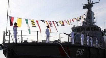 Cingapura criou uma nova flotilha naval