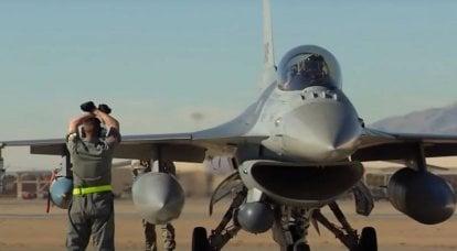 第一架私人F-16战斗机在美国飞行