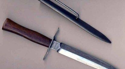 Hendek bıçağı. Birinci Dünyanın Özel Silahı