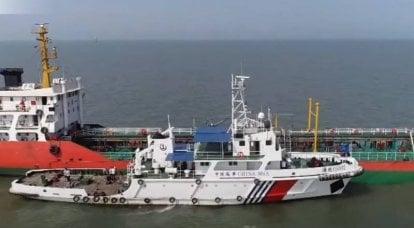 中国の沿岸警備隊は外国船に発砲する権利を取得します