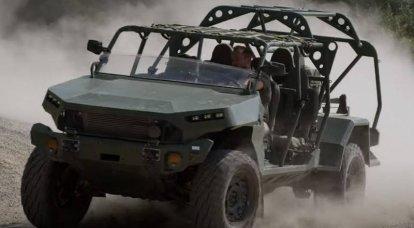 Infantry Squad Vehicles, ein neues leichtes SUV für Infanterie, begann in den USA