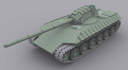 "1970'lerden itibaren Sovyet ""Armata"". Proje T-74"