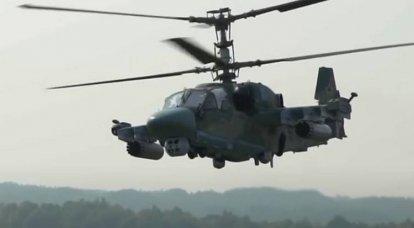 近代化されたKa-52Mのプロトタイプが初飛行を行いました