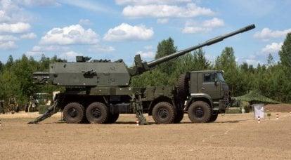 联盟和马尔瓦。 轮式底盘自行榴弹炮的前景