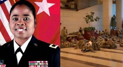 A blogosfera dos Estados Unidos explicou a nomeação do general Janine Birkhead para o posto de comandante das forças da Guarda Nacional no Capitólio