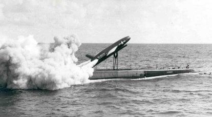 Dal sottomarino alla riva. Razzo di posta SSM-N-9 Regulus (USA)