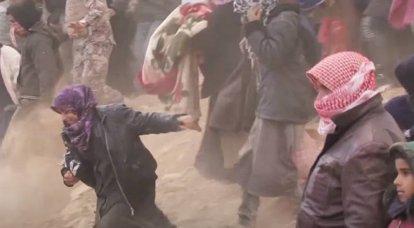 O Ministério da Defesa alertou sobre a preparação de uma provocação com armas químicas em Idlib