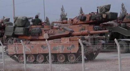 तुर्की के टैंक M-60 यूक्रेनी रक्षा परिसर के साथ कुर्द गए