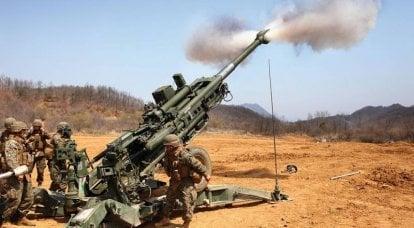 「ビッグブラザーズ」:潜在的な敵の127 mmおよび155 mmの弾薬