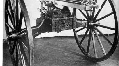 Invenzione e miglioramento. R. J. Gatling Mitragliatrici