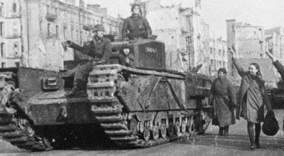 Tanques británicos: una vista interior