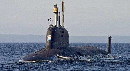 """Nükleer denizaltı projesi 885 """"Ulyanovsk"""". İnfografikler"""