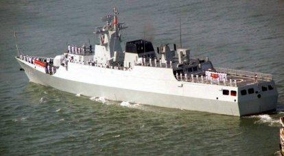 """La Chine continue de fabriquer une corvette """"Type 056"""""""