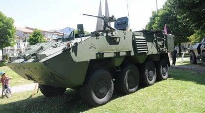 Pandur II:オーストリア出身の装甲兵員輸送車