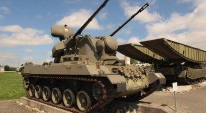 防空自行式安装服务Fliegerabwehrpanzer 68(瑞士)