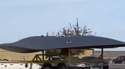 Apareció en la web un video del transporte de una aeronave desconocida de la empresa Lockheed Martin