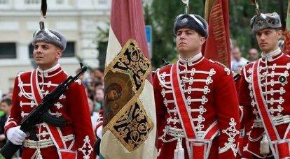 Sofya'daki Askeri Geçit Töreni, Cesaret Günü'ne ve Bulgaristan Ulusal Ordusu'nun kuruluşunun 140 yıldönümüne adanmış